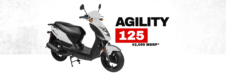 Kymco Agility 125 Scooter