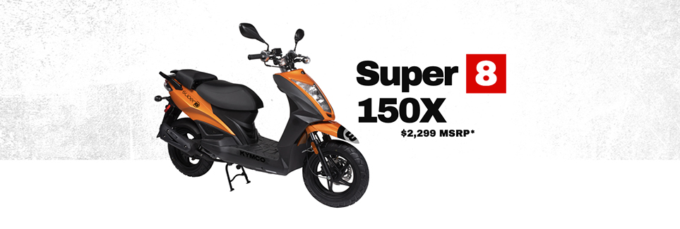 Kymco Super 8 150X Scooter