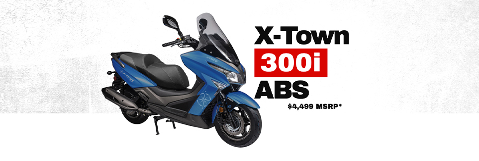 Kymco X-Town 300i ABC Scooter